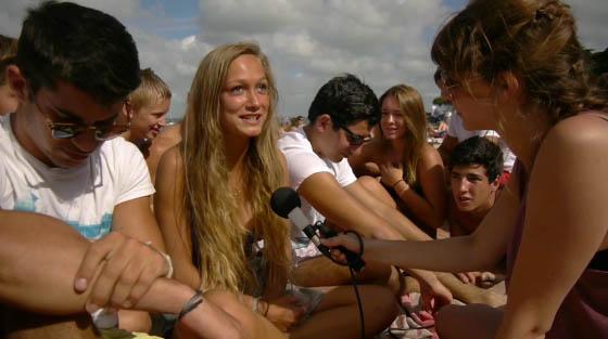 La longue route de sable, documentaire réalisé par Vanessa Bonnet / montage Emmanuelle Jay