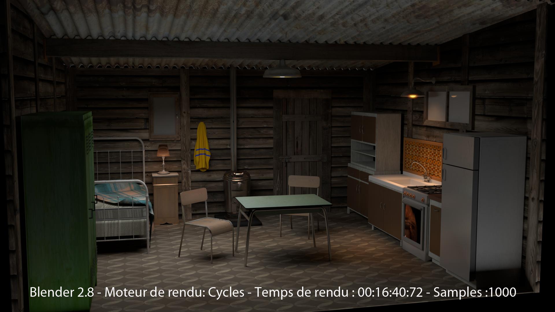 Blender2.8 image rendu sous Cycles